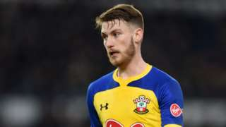 Callum Slattery in action for Southampton