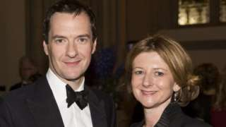 George and Frances Osborne in 2015