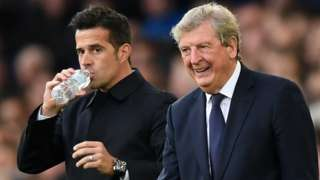 Roy Hodgson and Marco Silva