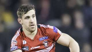 Tyrone McCarthy has made five starts for Salford Red Devils this season