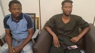 Amugbalẹgbẹ Sunday Igboho meji ti DSS sẹsẹ tu silẹ