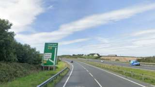 Junction 3 of the A55