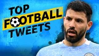 Top Football Tweets: Sergio Aguero