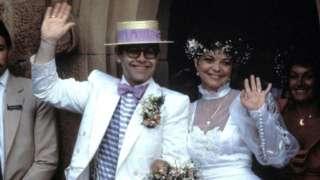 Elton John and Renate Blauel got married in 1984