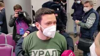 Police in Moscow raid an opposition forum