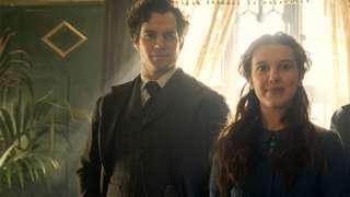 Sherlock y Enola Holmes