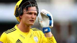 Hampshire batsman Aneurin Donald