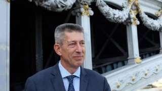 French ambassador to Minsk, Nicolas de Lacoste