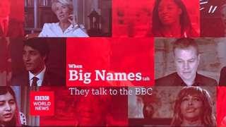 BBC World News phát bằng tiếng Anh ra thế giới và và kênh thương mại của đài BBC