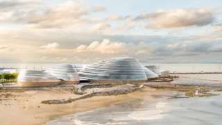 Artist impression of the Eden Project North