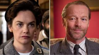 Ruth Wilson and Iain Glen, as Alison and Alec Wilson