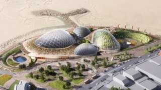 A new artist's impression of Eden Project North in Morecambe