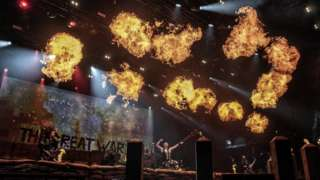 Sabaton at Bloodstock