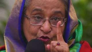 బంగ్లాదేశ్ ప్రధానమంత్రి షేక్ హసీనా