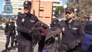 Alberto Gomez Sanchez alikamatwa na polisi 2019