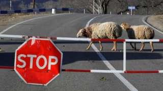 дорога в Карабахе