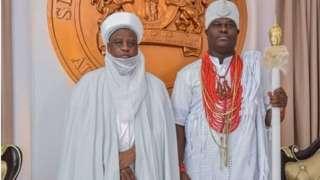 Ọọni Adeyeye Ogunwusi ati Sultan ti Sokoto