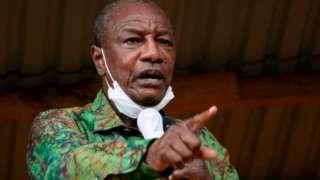 Alpha Conde alikuwa katika upinzani kwa miaka mingi kabla ya kushinda uchaguzi 2010 na 2015
