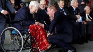 Ken Wilkinson with Prince William