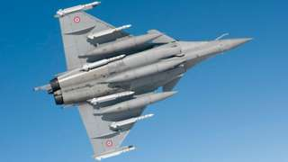 French Rafale fighter, 2011 file pic