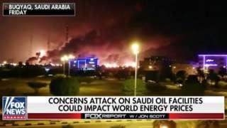 حمله به تاسیسات نفتی عربستان