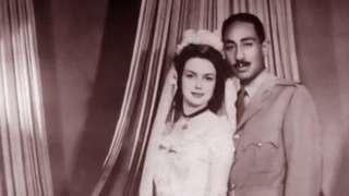 Arooskii Anwar Saadaat iyo Jihan 29-kii bishii May 1949