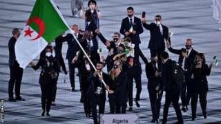 Kikosi cha Algeria kinachoshiriki mashindano ya Olimpiki