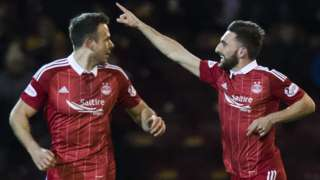 Graeme Shinnie (right) and Andrew Considine