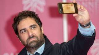 Grégory Montel in Cannes in October 2020 (file pic)