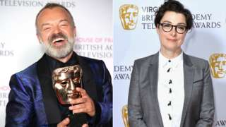 Graham Norton and Sue Perkins