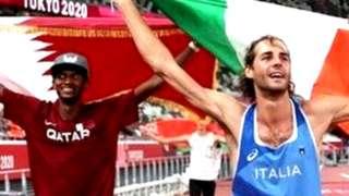 मुताज़ एसा बार्शिम ने ओलंपिक अधिकारियों से निवेदन किया कि उन्हें दो गोल्ड मेडल दे दिए जाएं जिस पर उनसे कहा गया कि अगर वे इसे साझा करने को राज़ी हैं तो दिया जा सकता है.