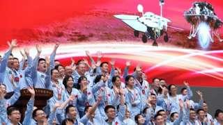 Photo 1. တရုတ်ရဲ့ အောင်မြင်မှုကို အမေရိကန် အာကာသ အေဂျင်စီ နာဆာကလည်း ချီးကျူးခဲ့