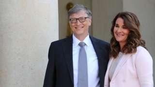 Bill dan Melinda Gates pada 2017