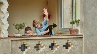 Испанцы на балконе
