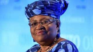 Ngozi Okonjo-Iweala ni we Munyafurika wa mbere n'umugore wa mbere uyoboye umuryango w'ubucuruzi ku isi
