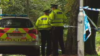 Police in Bourtreehill Park