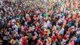 Protesto no Sudão