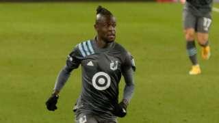 Sierra Leone's Kei Kamara in action for MLS side Minnesota United