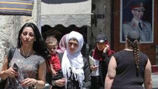 Şam sokakları