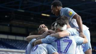 Coventry celebrate.
