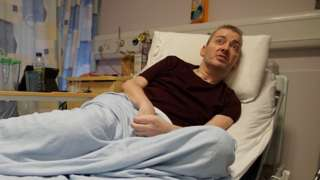 Cameron is recovering in the University Hospital Wishaw near Glasgow
