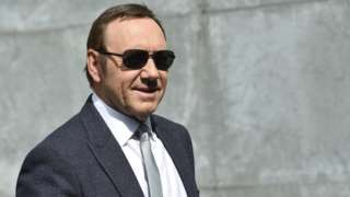 US actor Kevin Spacey attends the Milan Fashion Week in Italy in 2016