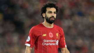 Liverpool and Egypt's Mohamed Salah