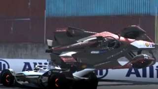 Formula E crash