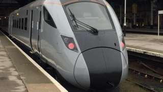 Hitachi intercity Class 802