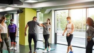 COVID gym class