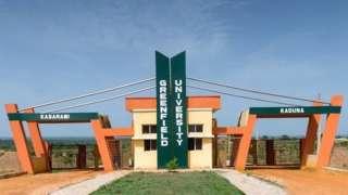 Greenfield university dey 30km away from Kaduna city