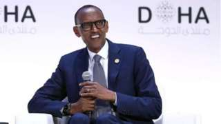 Le président du Rwanda, Paul Kagamé