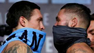 Bellew and Usyk