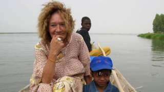 Liberons Sophie campaign picture of Sophie Pétronin